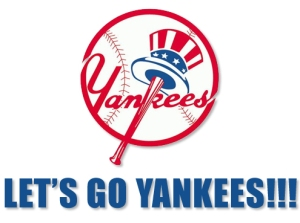 Let's go Yankees! (Courtesy of Da Bronx Bombers blog)