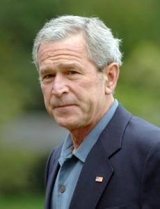 A Downtrodden President BUsh