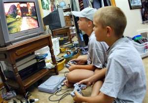 Kids and video games